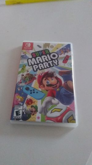 Mario party /Nintendo switch for Sale in undefined