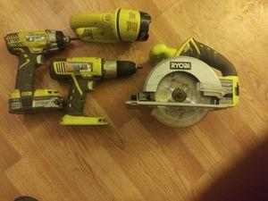 Ryobi power tools for Sale in New Port Richey, FL