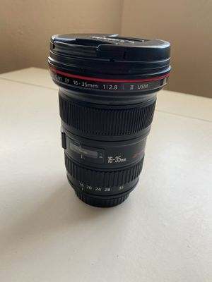 Canon EF 16-35mm f/2.28 L II USM Zoom lens for Sale in San Francisco, CA