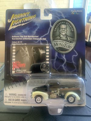 Johnny Lightning Universal Studios Monsters The Mummy '40 Ford Pick-up Truck NEW for Sale in Fresno, CA