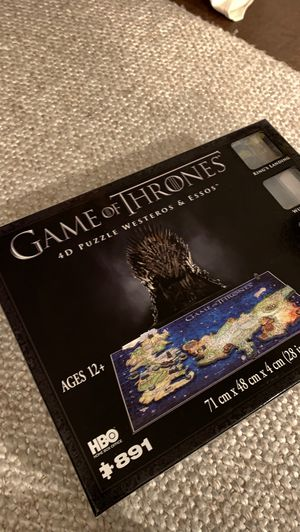 Game of Thrones 3D Puzzle for Sale in Redmond, WA