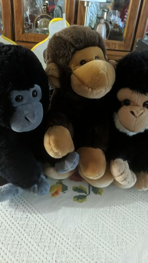 Monkey stuffed animals for Sale in HILLTOP MALL, CA