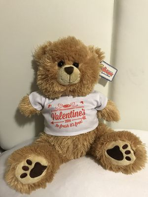 Bear Factory Teddy Bear Valentine's 2014 for Sale in Alexandria, VA