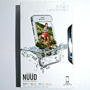 Lifeproof Nuud Waterproof Case for iPhone 6/6s (Bright White / Gray) for Sale in San Diego, CA