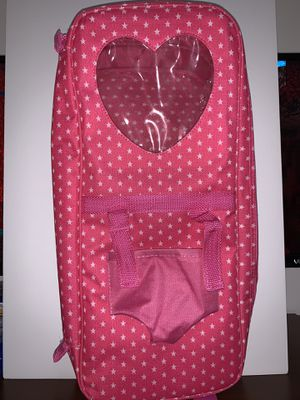 """18"""" doll travel case for Sale in Midland, TX"""