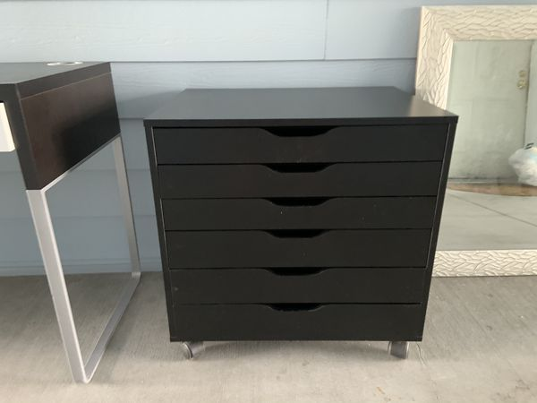 IKEA wheeled file drawer cabinet