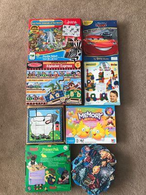 Preschoolers games, puzzled and books for Sale in San Jose, CA