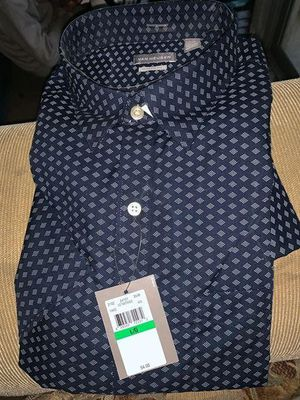 I have 2 brand new van heusen wrinkle free classic fit color shirts button up size Lg for Sale in San Jose, CA