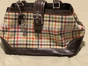 *New without tags Unused Coach houndstooth purse w/dust bag* for Sale in Oregon City, OR
