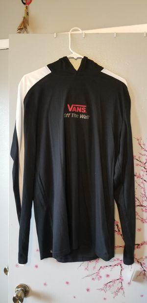 Vans Long sleeve shirt w/ hood for Sale in Pomona, CA