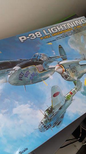 Used, (P-38 Lightning) Model Airplane for Sale for sale  Boca Raton, FL