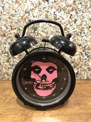 Punk rock wake up call Misfits clock works great with obnoxious bell alarm. for Sale in Phoenix, AZ