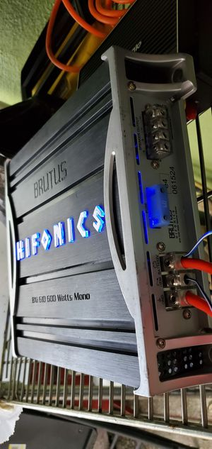 HIFONICS BRUTUS BXI-610 600 WATTS RMS for Sale in San Leandro, CA