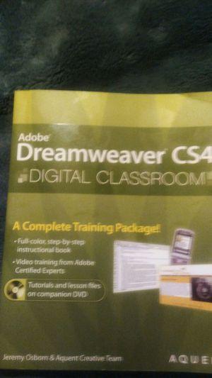 Adobe dream Weaver cs4 for Sale in Medford, OR