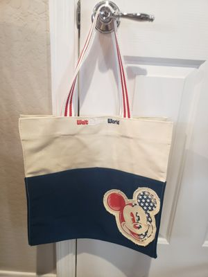 Disney Mackey Mouse Canvas Tote Bag for Sale in Mesa, AZ