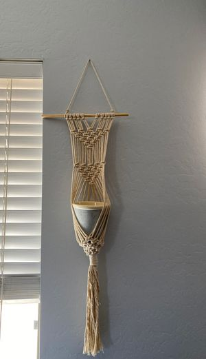 Hand made macramé (I have 2) for Sale in Peoria, AZ