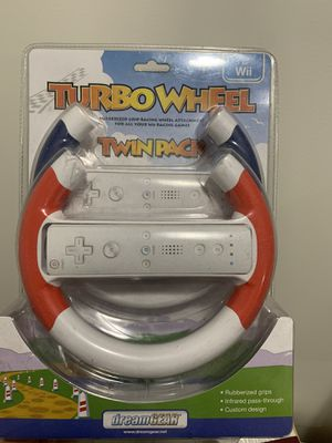 Turbo wheel Twin Pack for Wii (controllers not included, just wheels) for Sale in Silver Spring, MD