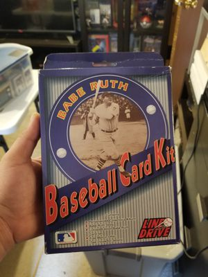 Babe Ruth baseball Card Kit (new) for Sale in Hanover, MD