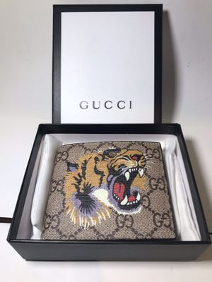 Gucci Brown GG Tiger Wallet! for Sale in Queens, NY