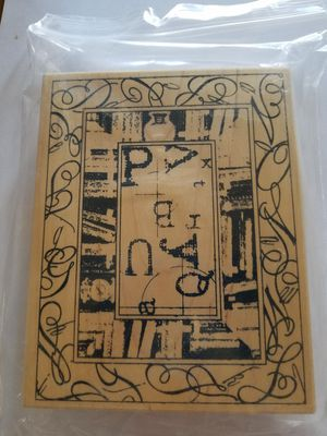 School themed rubber stamp for Sale in Chicago, IL