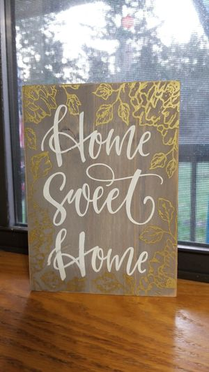 Wood Home Sweet Home Sign for Sale in Yelm, WA