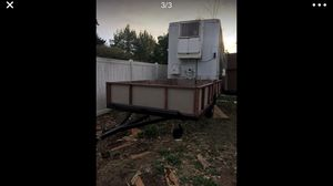15 x8 trailer with metal grate flooring for Sale in Portland, OR