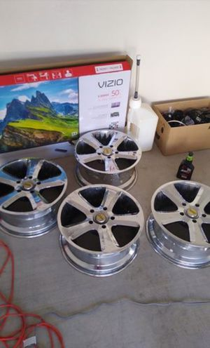 """20"""" inch Chrome Rims $220 for the whole set for Sale in Tempe, AZ"""