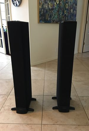 BP-8040 ST bipolar super tower dual speaker system for Sale in Tampa, FL
