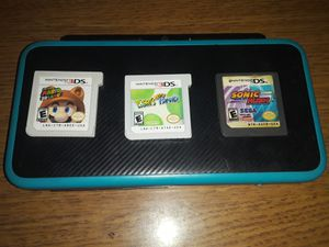 NINTENDO 2DS XL + 3 GAMES for Sale in Tucson, AZ