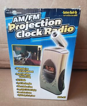Electro Brand Am/Fm Projection Clock Radio for Sale in Lawndale, CA