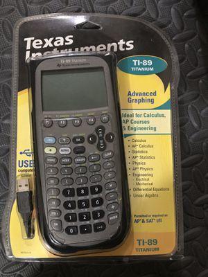 TI-89 calculator Titanium for Sale in Sacramento, CA