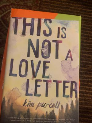 """""""This is Not A Love Letter"""" interracial book - a must read! for Sale in Boston, MA"""