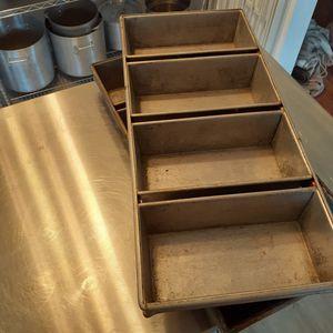 Heavy Duty Bakers Loaf Pans $20 Each for Sale in Hampton, VA