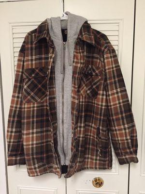 Men's XL lined hoodie jacket for Sale in Douglasville, GA