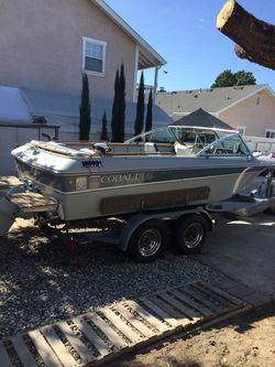 19'cobalt fish ski boat for Sale in Cypress,  CA