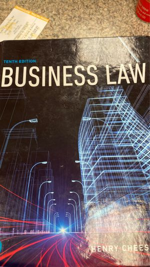 Business Law book for Sale in Arlington, TX