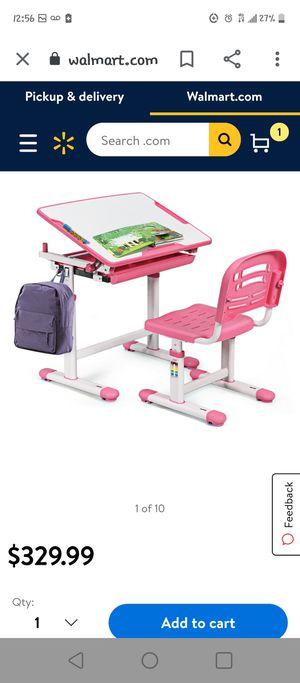 adjustable children desk for Sale in Fontana, CA