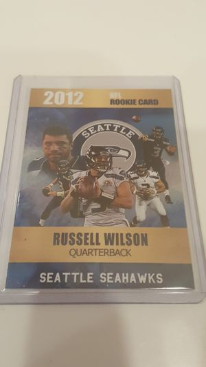 Russell Wilson 2012 rookie phenoms NFL rookie card only 2,000 made Seattle Seahawks for Sale in Mundelein, IL