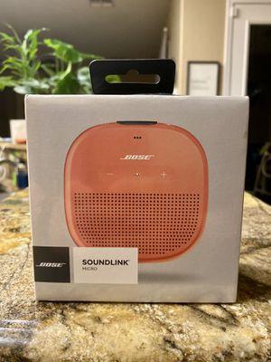 Bose SoundLink Micro Waterproof Portable Wireless Bluetooth Speaker for Sale in Glendale, AZ