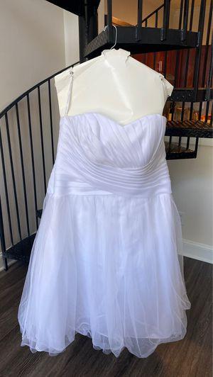 David's Bridal Wedding Dress - White for Sale in Atlanta, GA