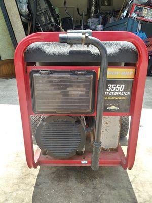 3550 Watt Generator For Sale! Great Deal!!! for Sale in Pinellas Park, FL