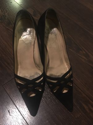 Dark Brown-Black suede authentic vintage Christian Louboutin heels for Sale in Washington, DC