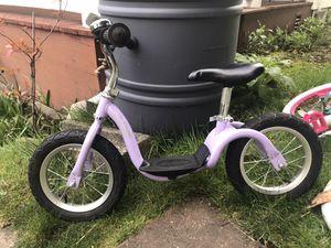 Kazam Balance Bike — lavender for Sale in Seattle, WA