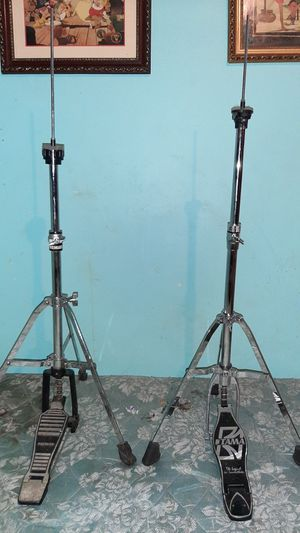 2 hi hats cymbal stands for Sale in Des Plaines, IL