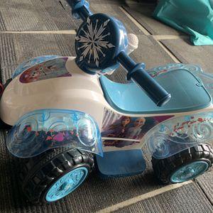 Disney Frozen Ride On Quad for Sale in Artesia, CA