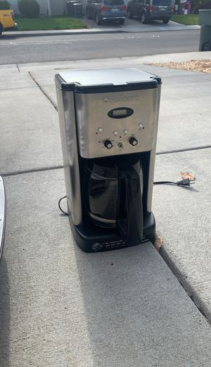 Cuisinart coffee maker for Sale in Tracy, CA