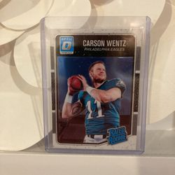 Carson Wentz Donruss Optic Rookie for Sale in Philadelphia,  PA