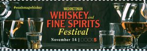 One General Admission Ticket to Whiskey Festival near Union Market for Sale in Washington, DC