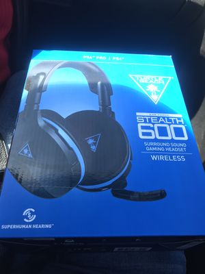Turtle Beach Stealth 600 for PS4 for Sale in Alexandria, VA