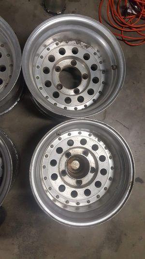 15x9 alloy wheels 5x5.5 ford bolt pattern ENKEI BRAND for Sale in Riverside, CA
